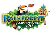 Rainforest Adventure Golf Logo graphic